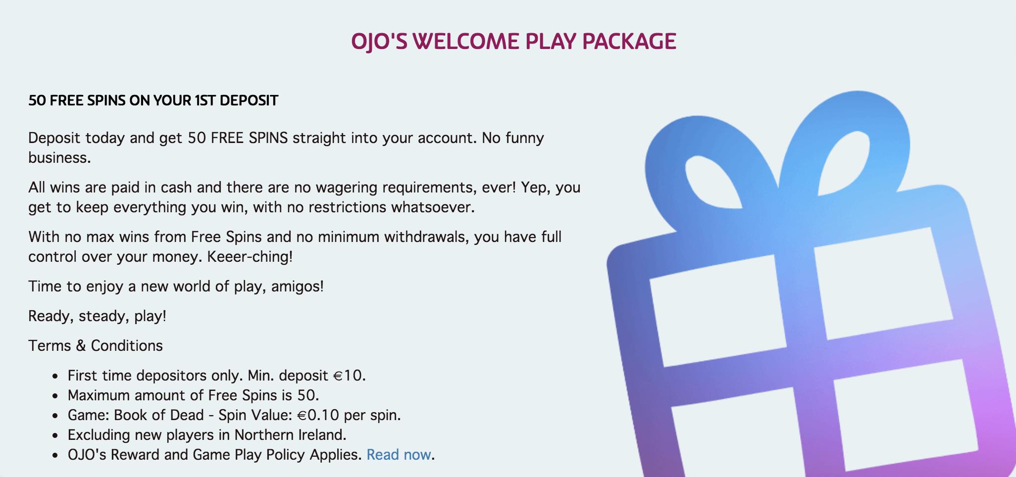 play ojo casino review
