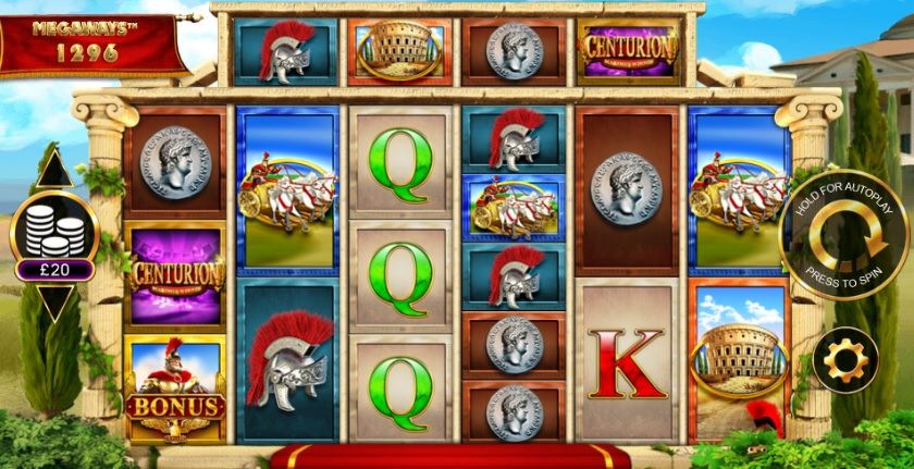 Centurion Megaways Slot Review