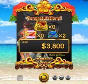 Hawaiian Dream Slot Big Win