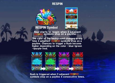 Hawaiian Dream Re-Spins