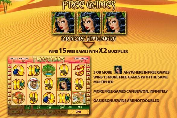 Desert Treasure Free Games